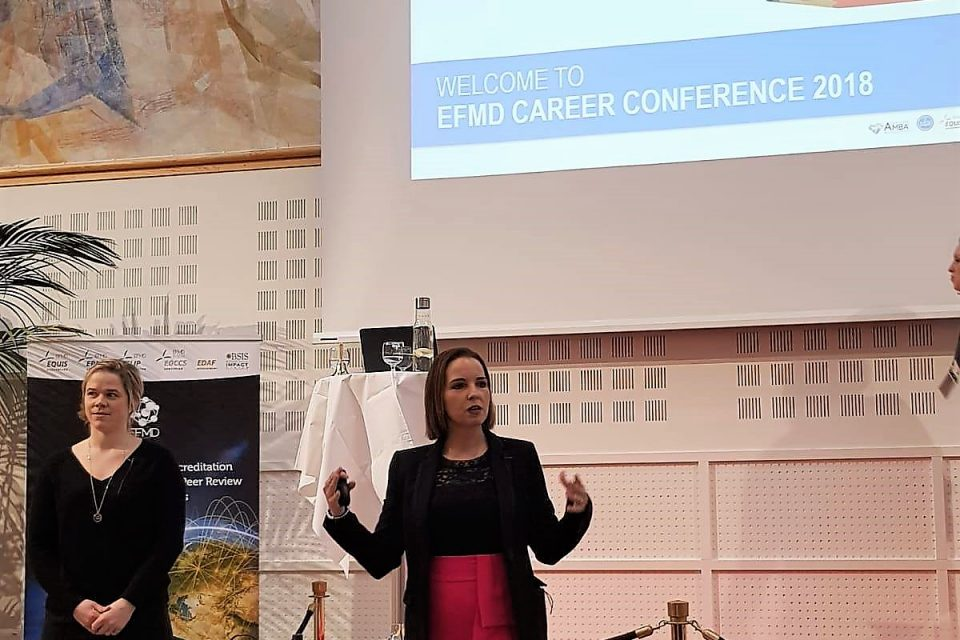 Highered presents global trends at the 2018 EFMD Careers Conference