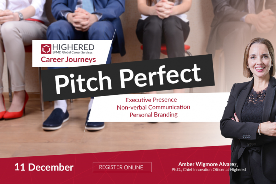 Next Career Journeys webinar: Pitch Perfect