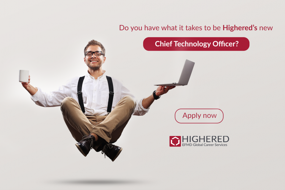 Highered is Hiring! Apply today to become CTO of Highered