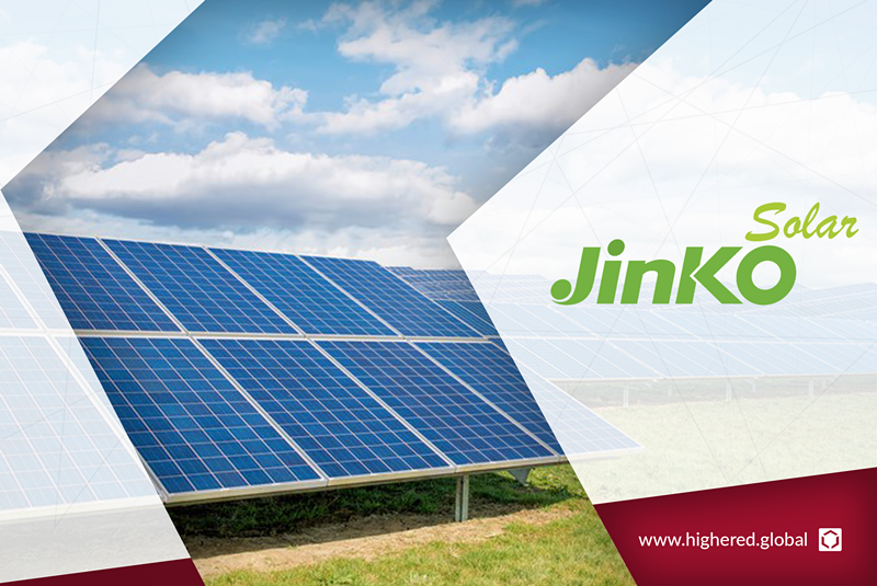 JinkoSolar, a global leader in the solar industry, now onboard on Highered