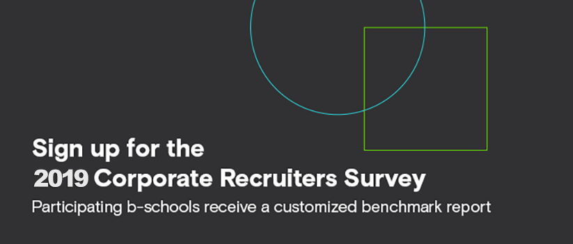 Schools invited to participate in the 2019 GMAC Corporate Recruiters Survey