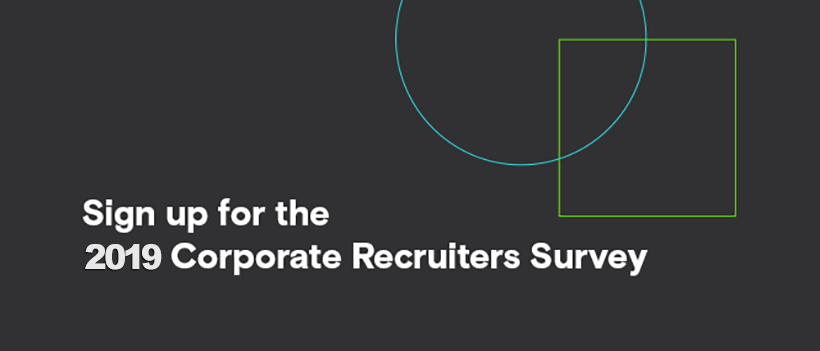 You are influencing the future of talent recruitment!