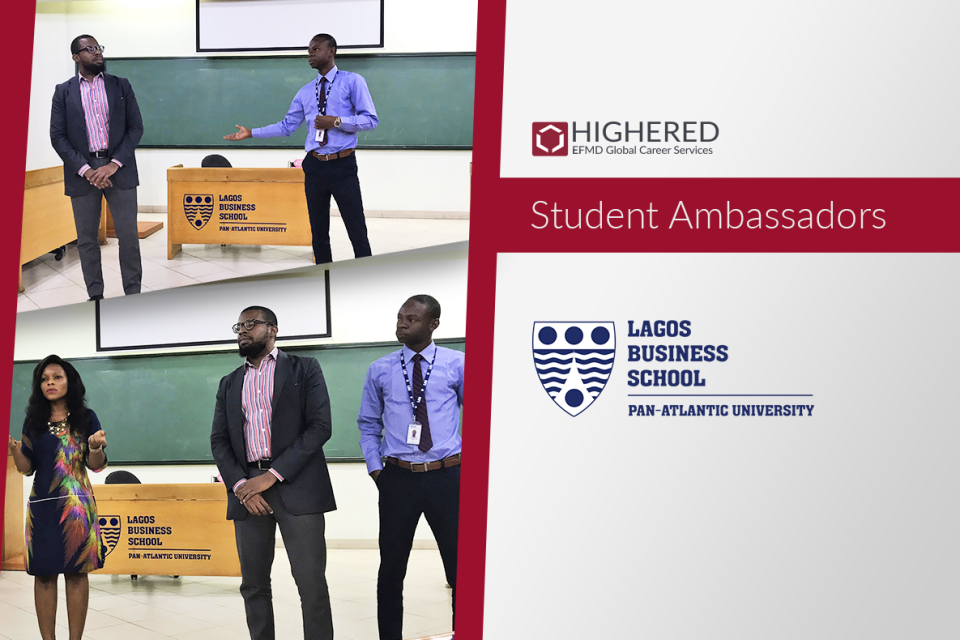 Ambassadors in Action: Lagos Business School MBA Student Event