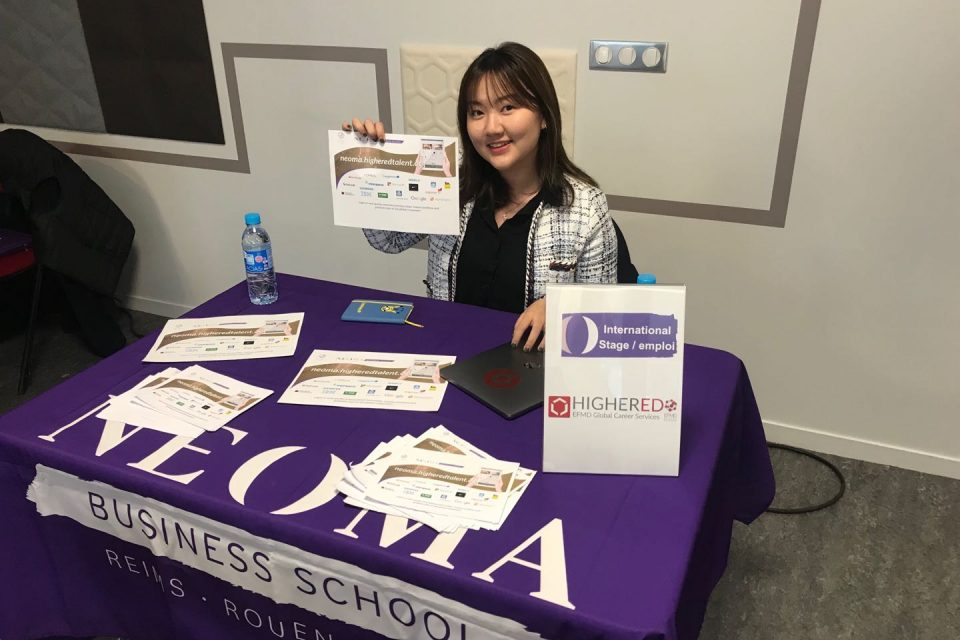 Student Ambassador in Action: Highered Represented at NEOMA's Career Advice Day