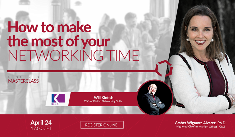 How To Make The Most Of Your Networking Time Masterclass Webinar