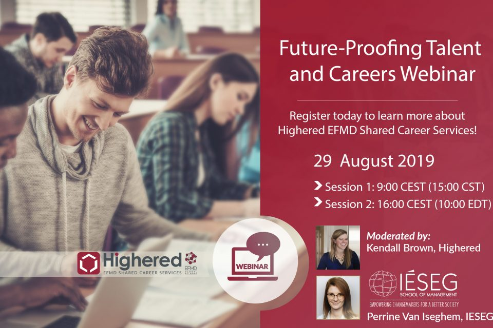 Future-Proofing Talent and Career Services - Highered EFMD Shared Career Services